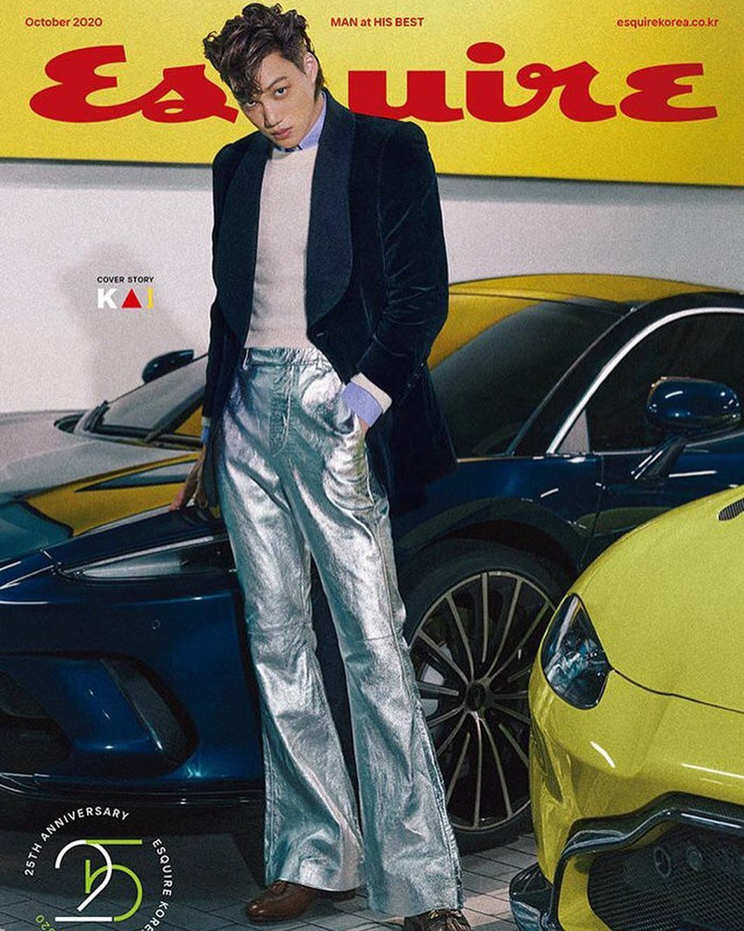 kai trên tạp chí esquire tháng 11/2020