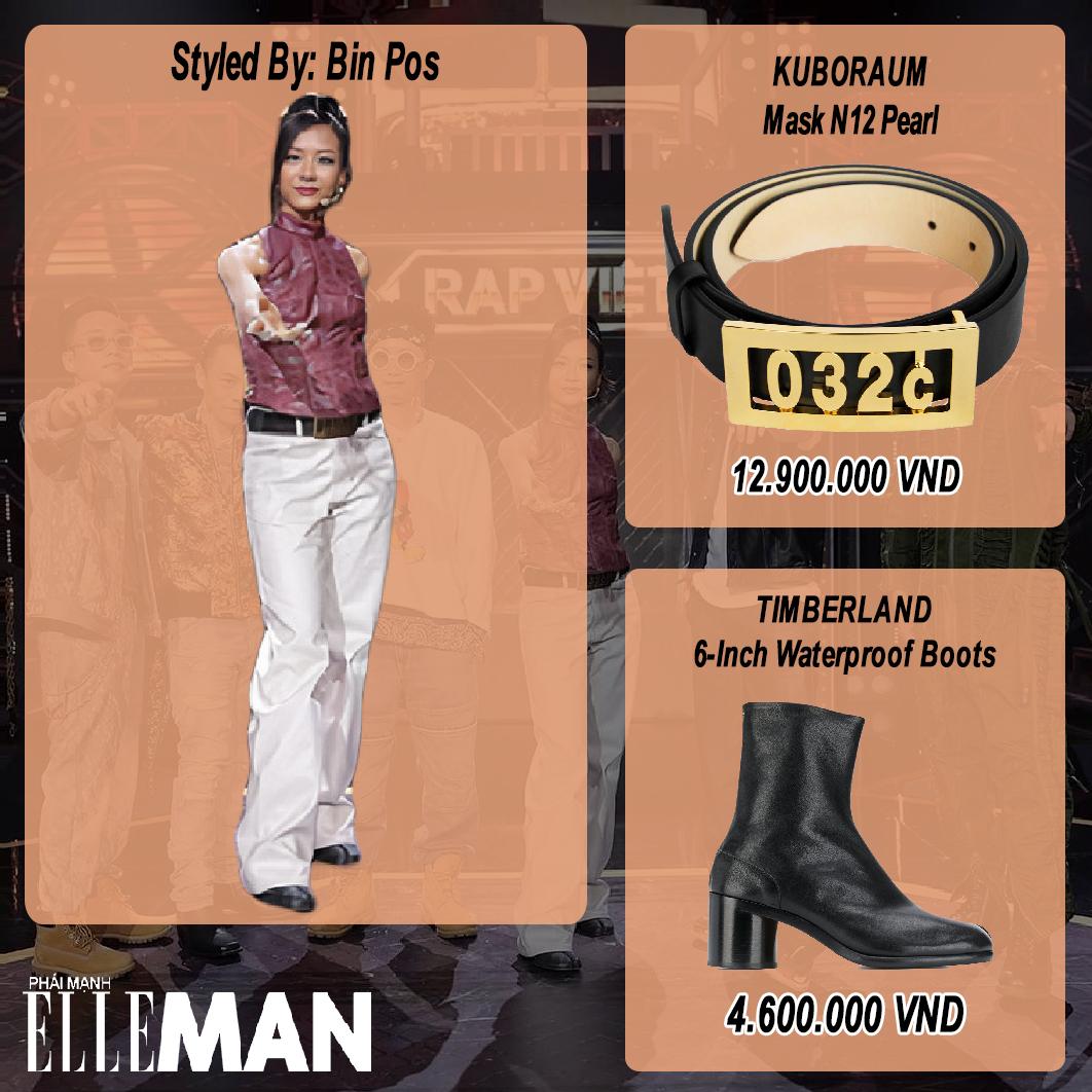 thoi trang rap viet tap 13 - suboi- layout outfit - elleman 3