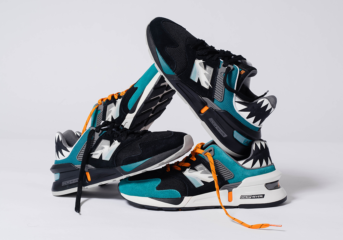 """SHOE PALACE X NEW BALANCE 997S """"GREAT WHITE"""" giày thể thao"""