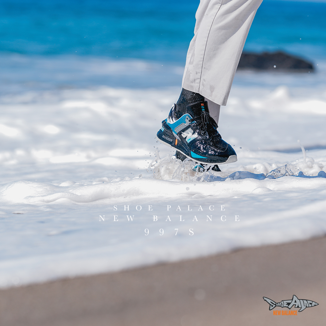 """giày thể thao SHOE PALACE X NEW BALANCE 997S """"GREAT WHITE"""""""