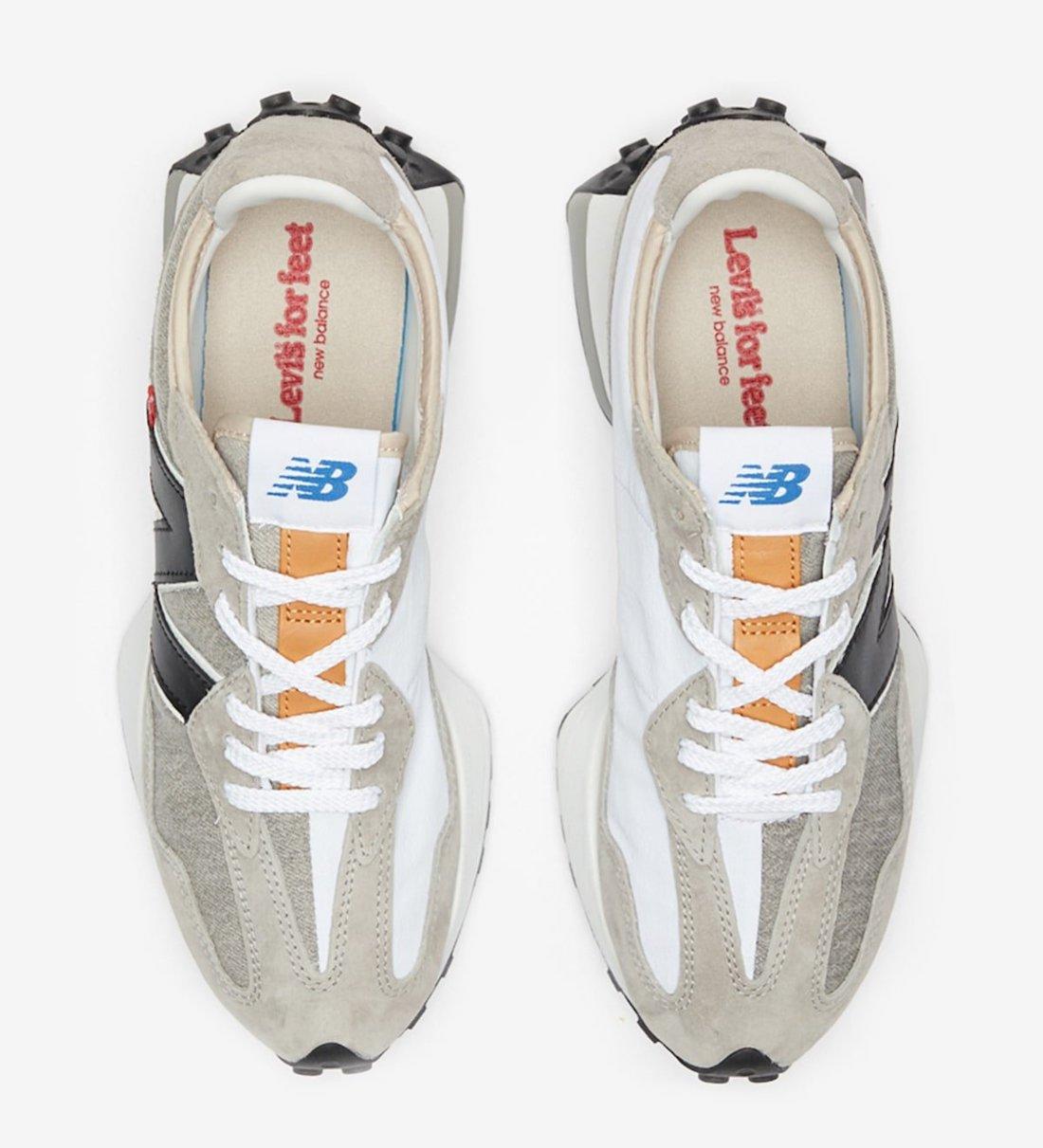 giày thể thao NEW BALANCE 327 x LEVI'S beige