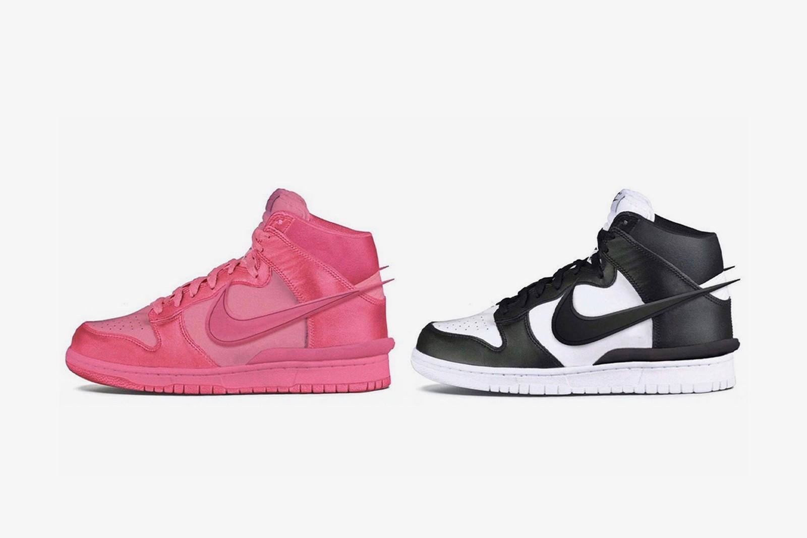 giày thể thao AMBUSH x Nike Dunk High