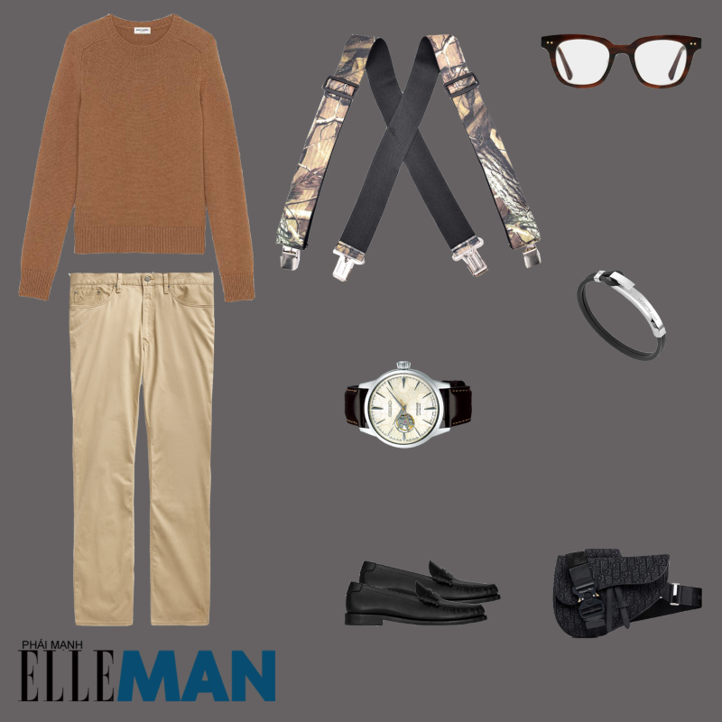 outfit 3 - phoi do voi ao chui co