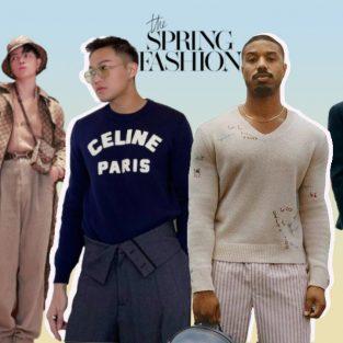 Thời trang sao nam mặc đẹp tuần 2 tháng 1/2021