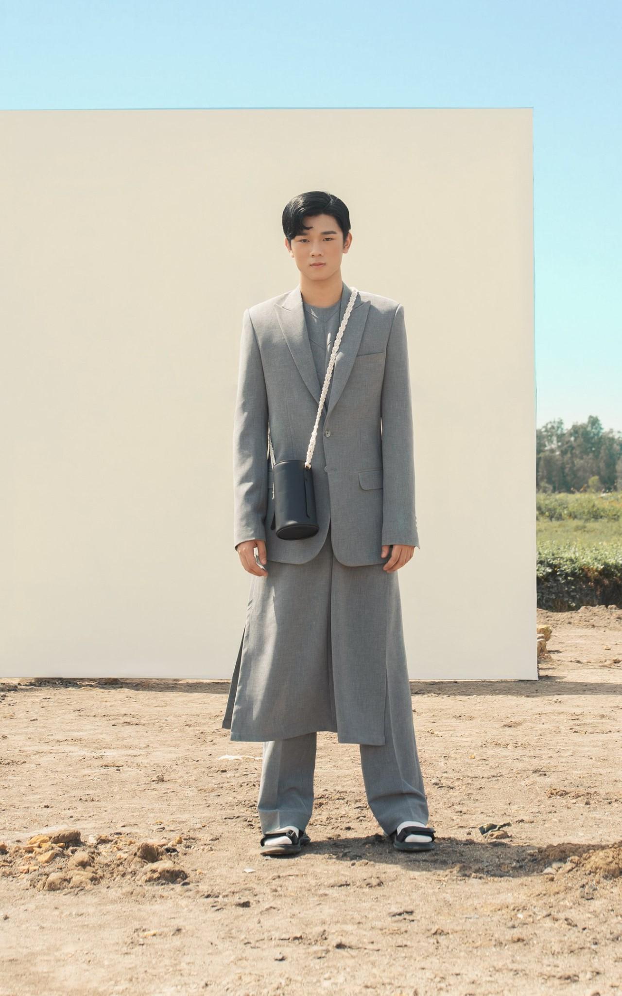 áo dài nam das