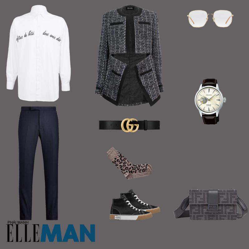 outfit 3 - phoi do voi giay the thao local brand