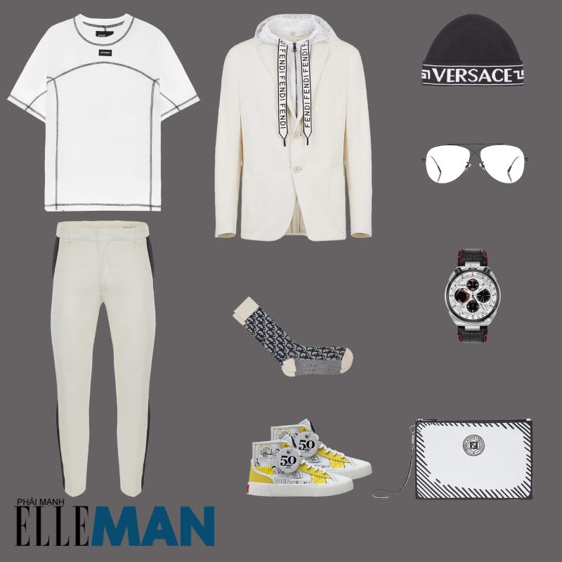outfit 5 - phoi do voi giay the thao local brand