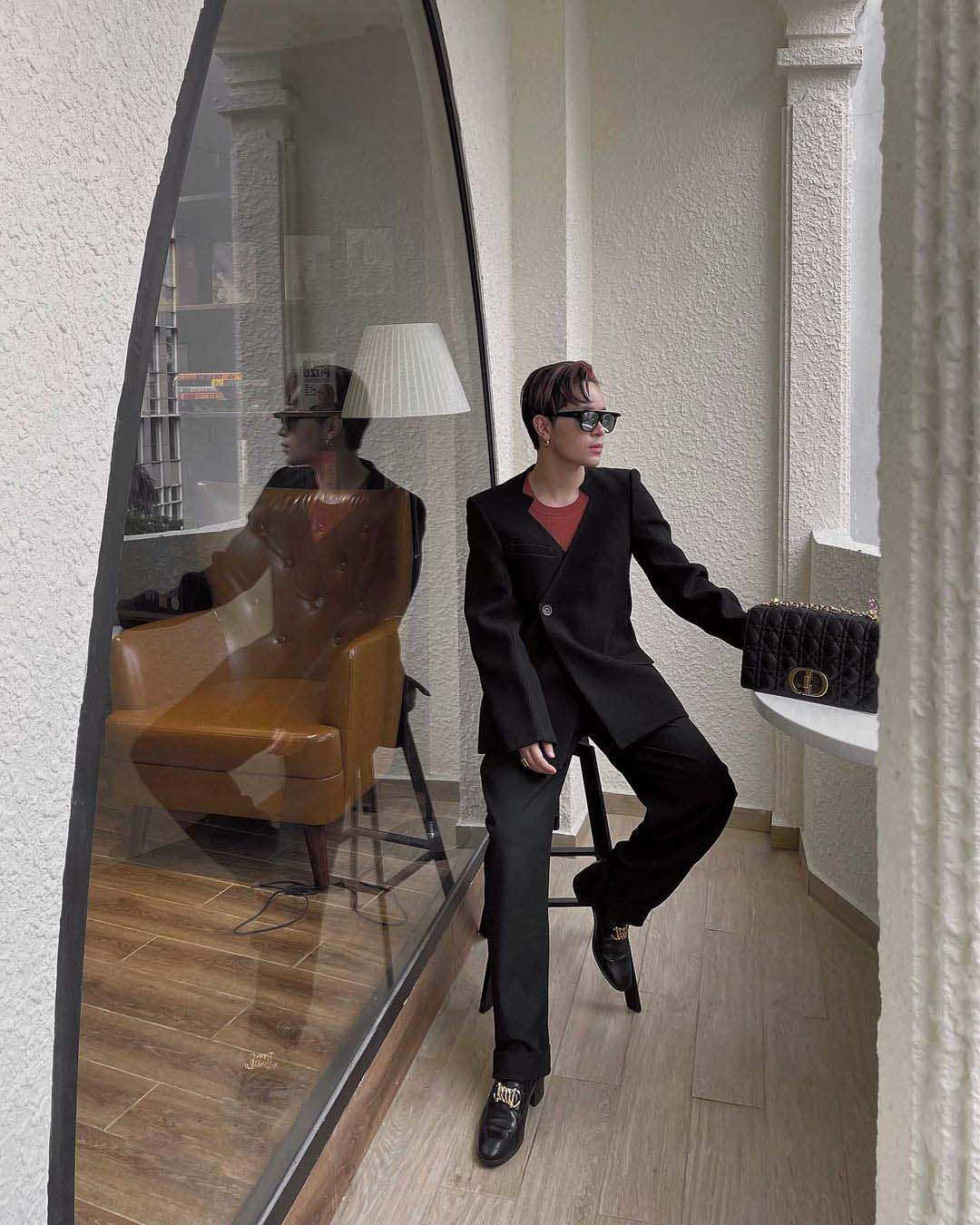 thời trang sao nam kelbin lei mặc suit Peter Đỗ