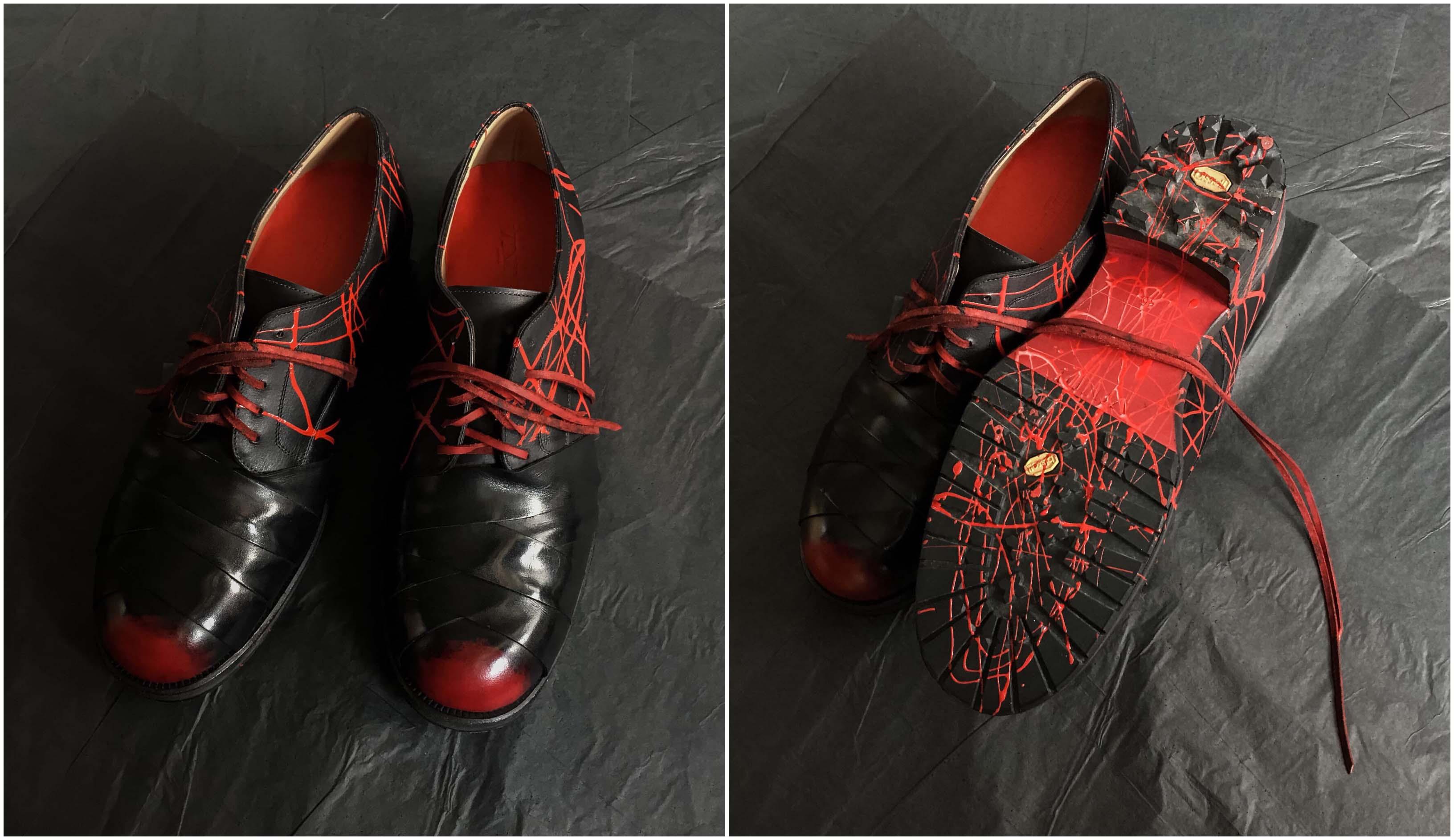 giày da vindi shoemaker trong blue tequila của táo