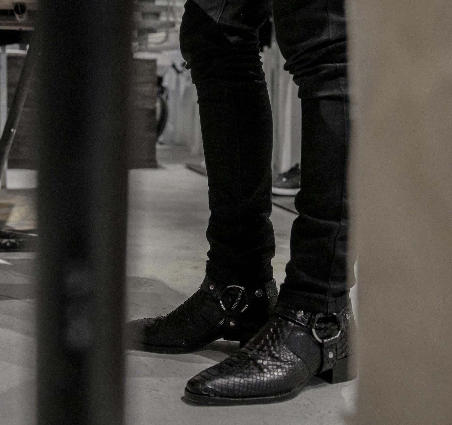 giày da the spiled shoe