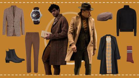 ELLE Man Style Calendar: Sức quyến rũ từ phong cách Dark Academia