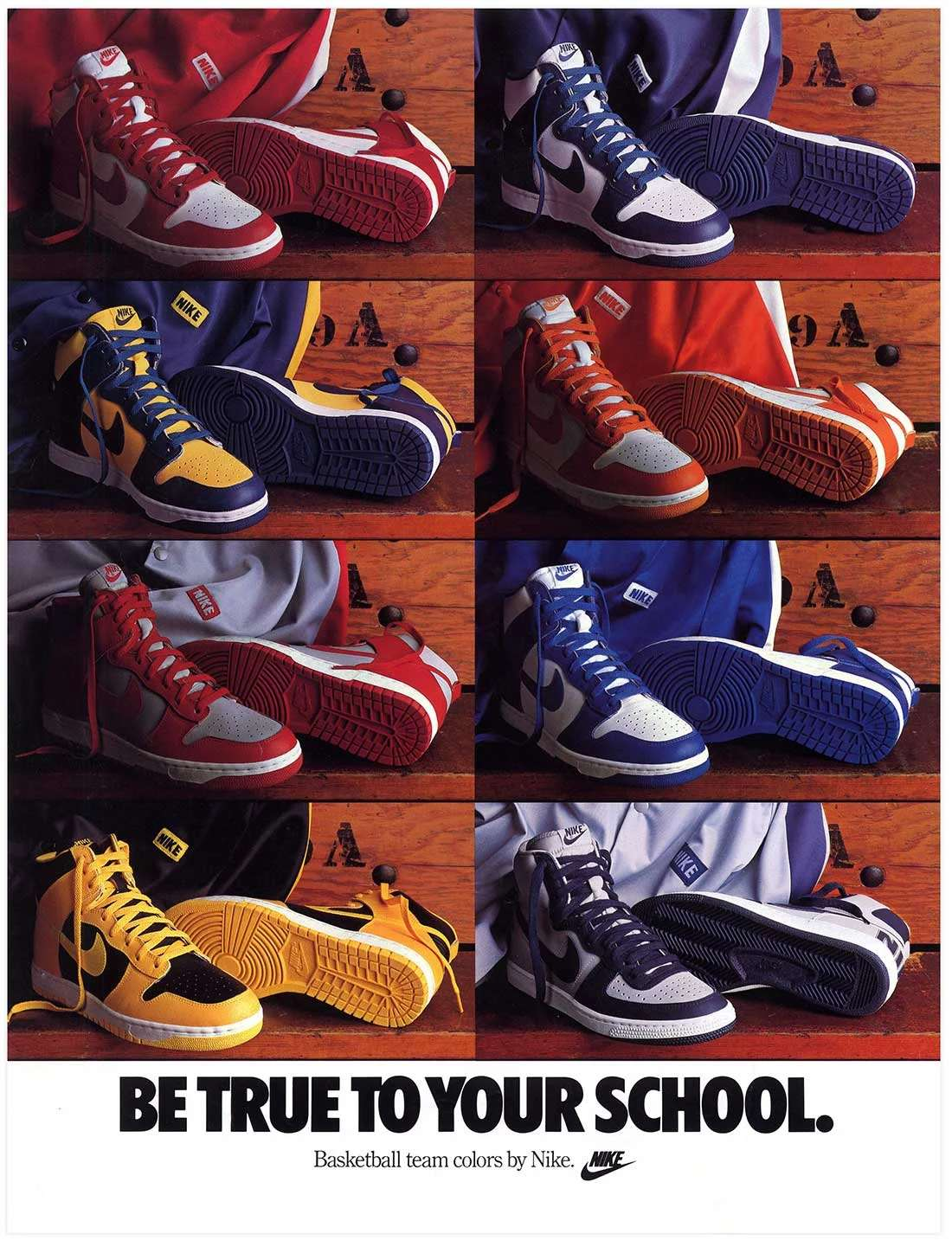 be true to your school pack dunk - elle man