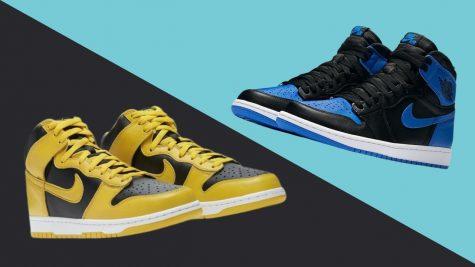 Giày thể thao Nike Dunk vs Air Jordan 1: Tìm hiểu sự khác biệt