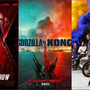 12 phim hành động đáng chú ý nửa đầu năm 2021