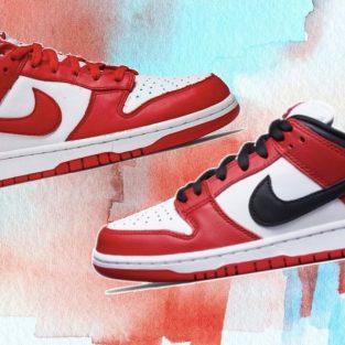 Nike Dunk vs Nike Dunk SB: So sánh sự khác biệt