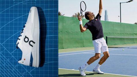 Roger Federer quay trở lại và trình lãng mẫu giày tennis mới