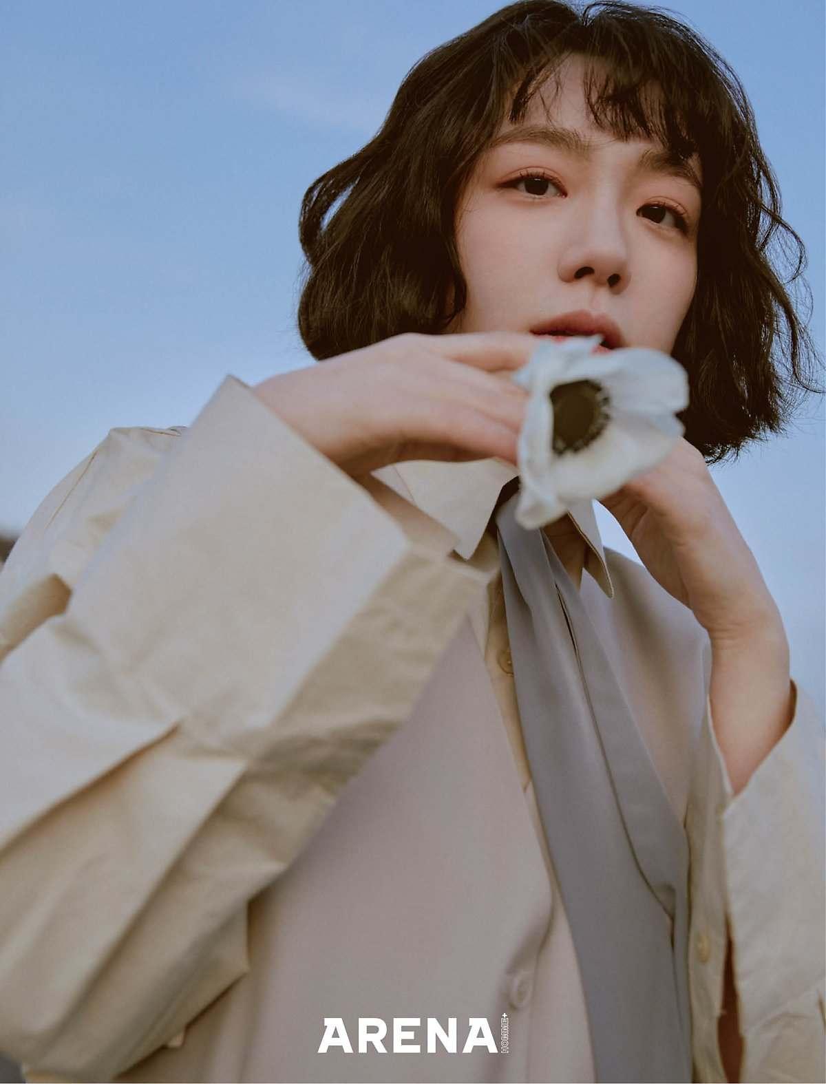 so joo yeon hoa bao - elle man
