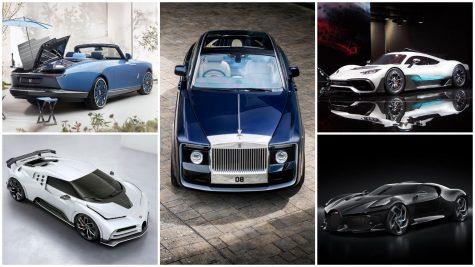 Top siêu xe đắt tiền nhất thế giới (nửa đầu năm 2021)