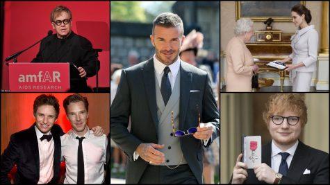 Những ngôi sao được Hoàng gia Anh vinh danh vì những đóng góp cho xã hội