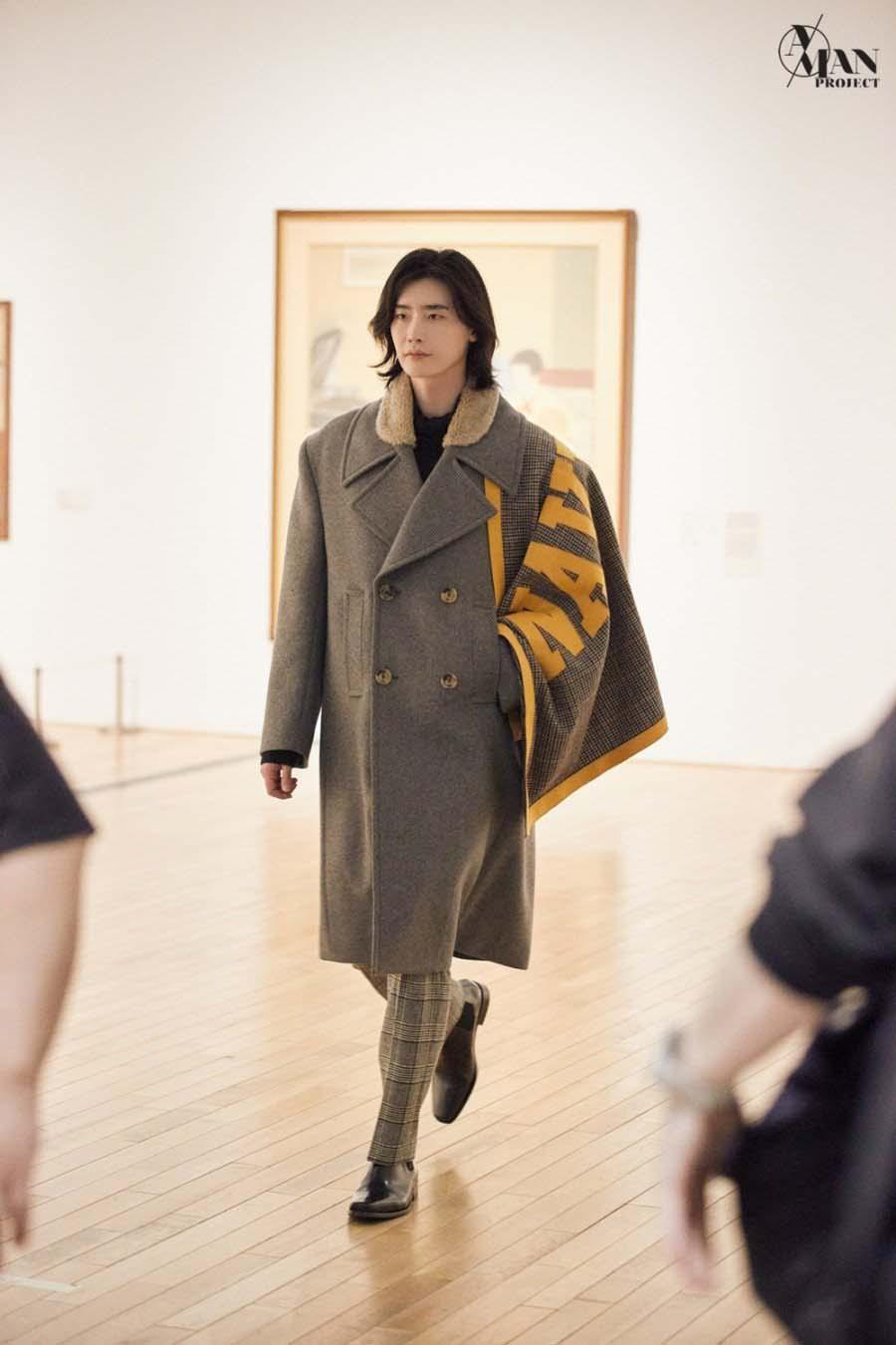 thời trang sao lee yong suk