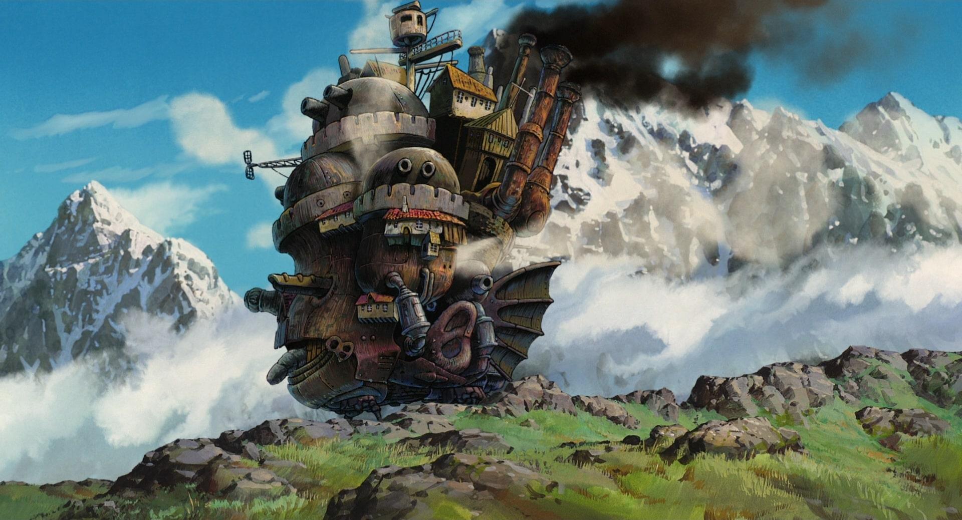 phim anime howl's moving castle - elle man