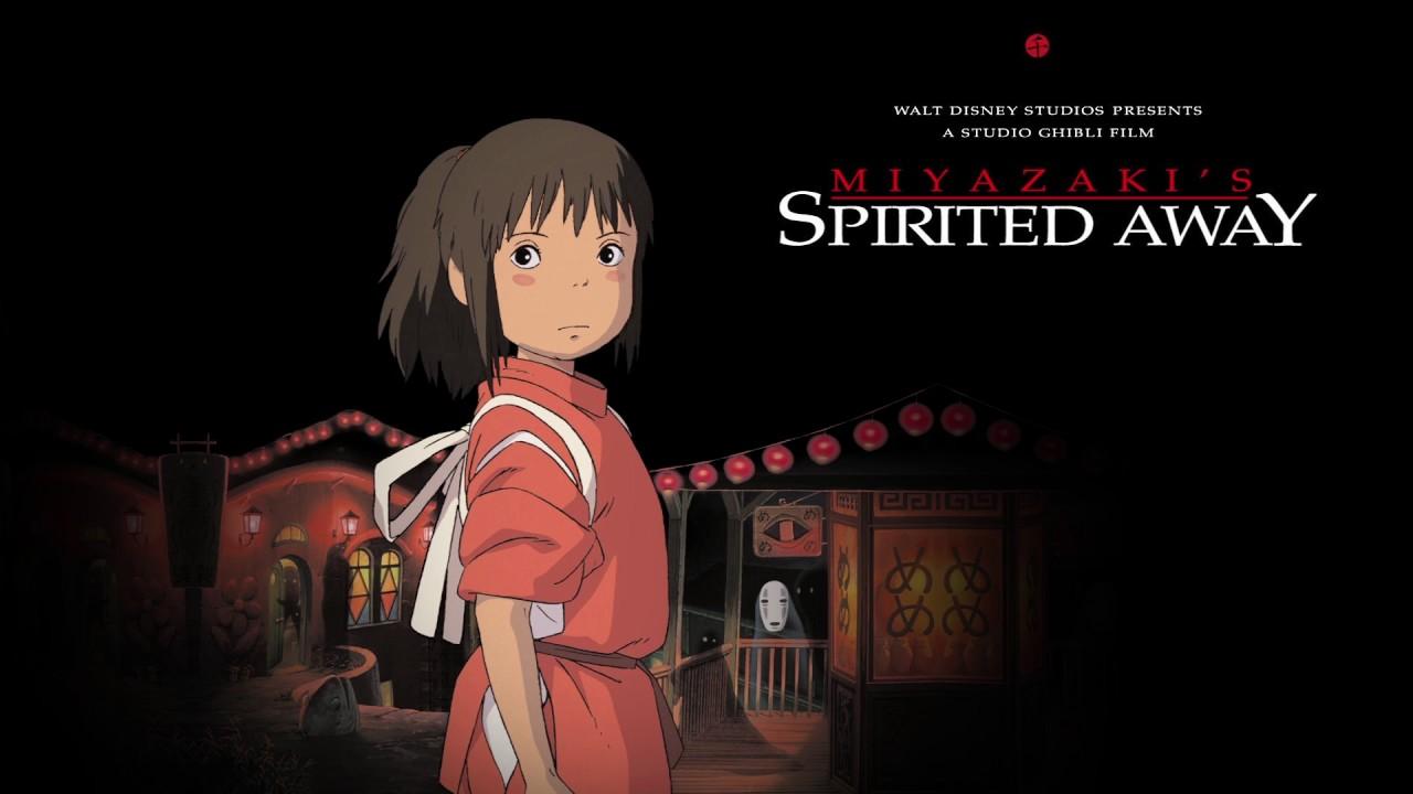 phim anime spirited away - elle man