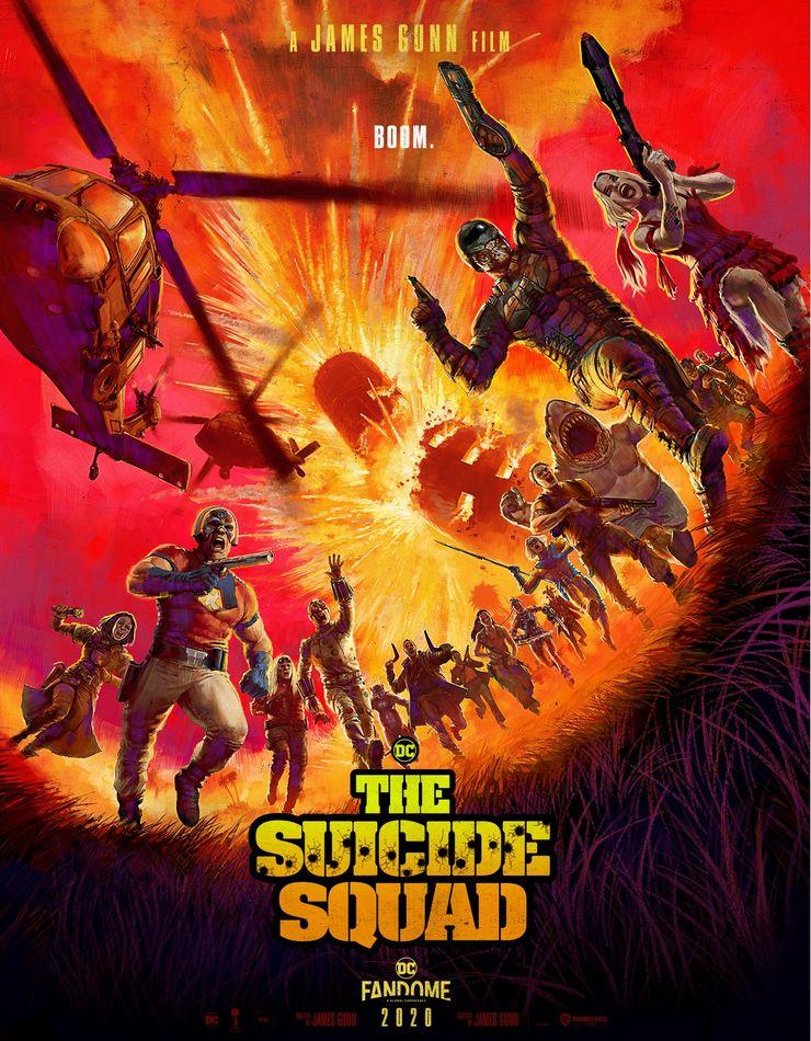 phim hành động THE SUICIDE SQUAD