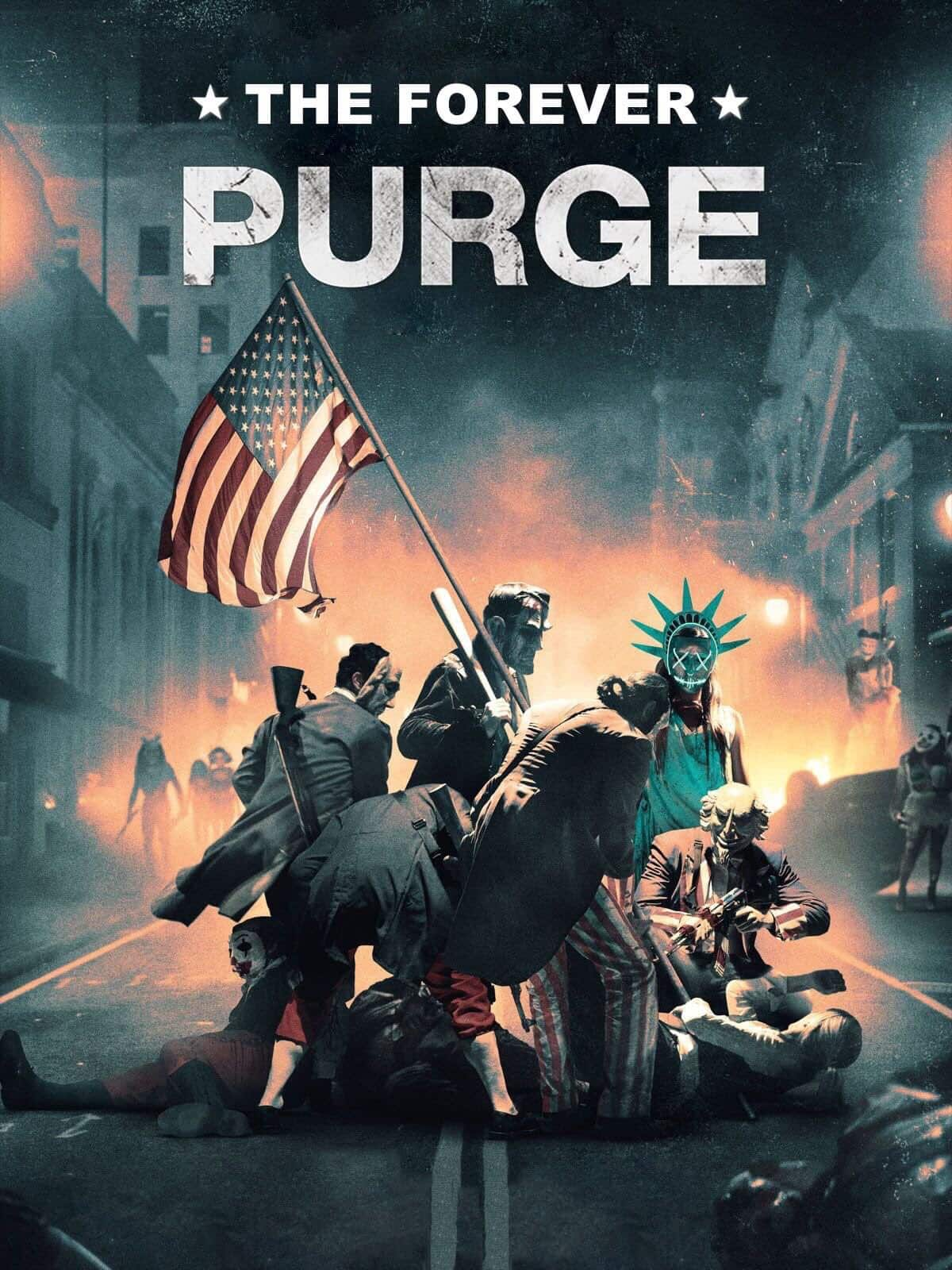 poster phim viễn tưởng The Forever Purge.