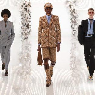 "BST Gucci Fall 2021 ""Aria"": Cuốn hồi ký 100 năm cùng Balenciaga"