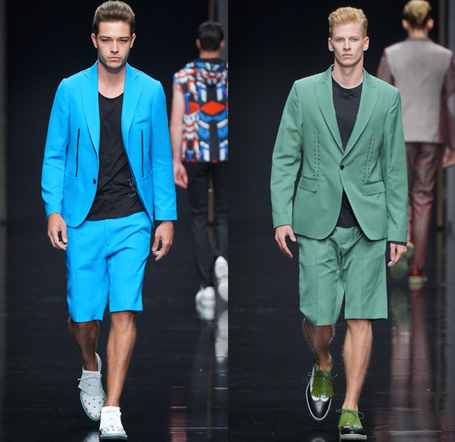 quan short bermuda - elleman - 0421 - elle man style calendar - john richmond 2016 xuan he - denim jeans observer - 2