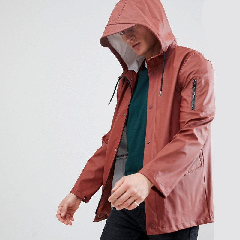 thoi trang di mua - elle man - style calendar #3 - minimalist rain coat - men journal