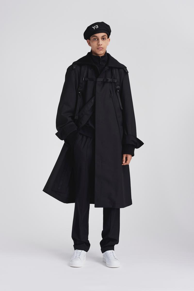 thoi trang di mua - elle man - style calendar #3 - minimalist rain coat - y-3 fw20