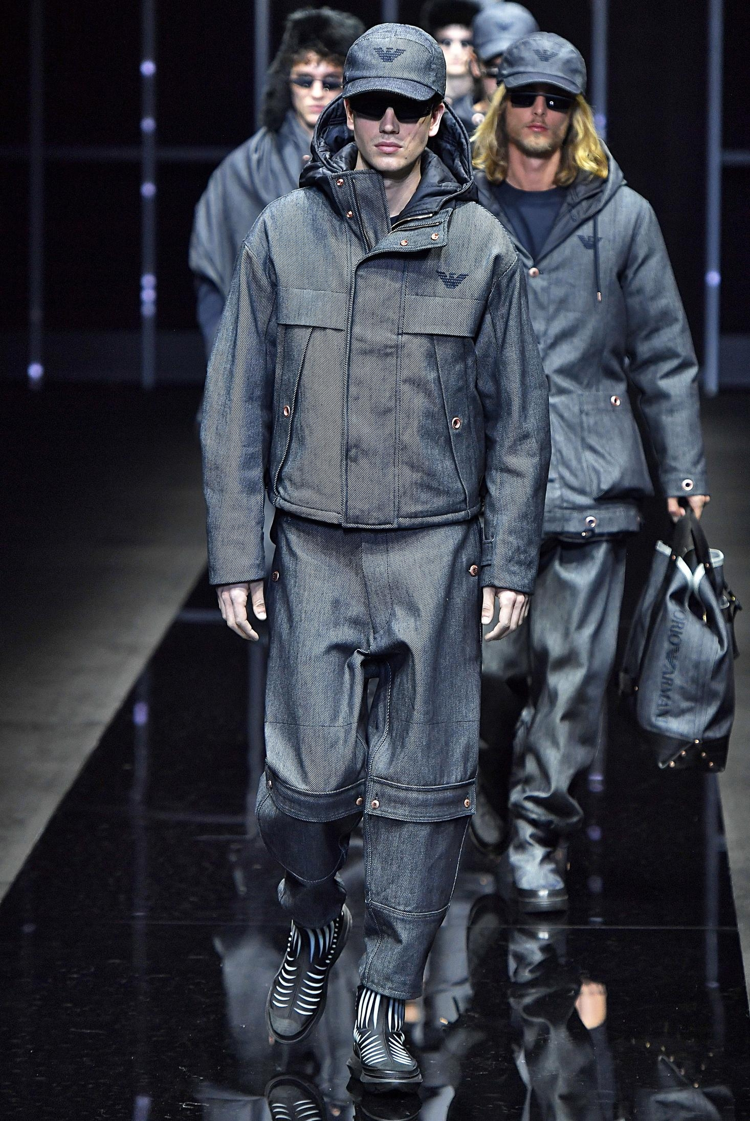 thoi trang di mua - elle man - style calendar #3 - technical jacket - cargo - giorgio armani - hypebeast