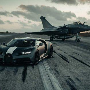 """Siêu xe Bugatti Chiron """"Les Légendes du Ciel"""" – sự giao thoa giữa đường đua và bầu trời"""