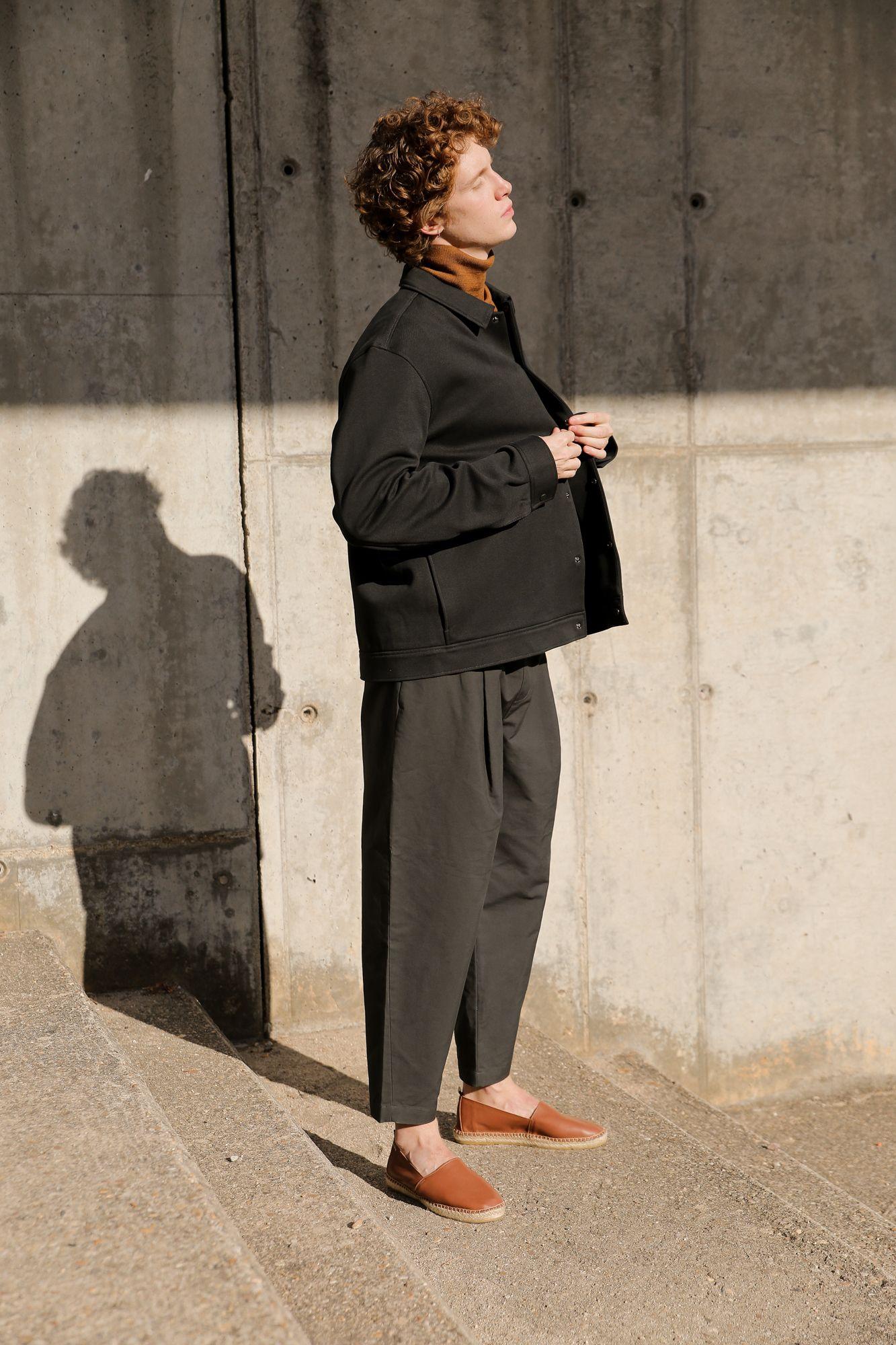 giay mua he - elle man style calendar - espadrille - urban men outfits