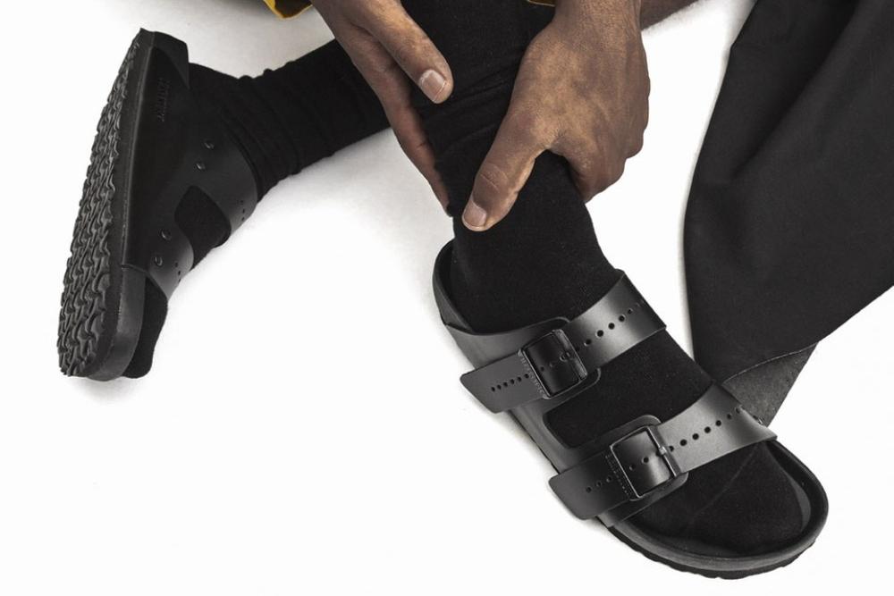 giày sandals Rick Owens x Birkenstock Arizona