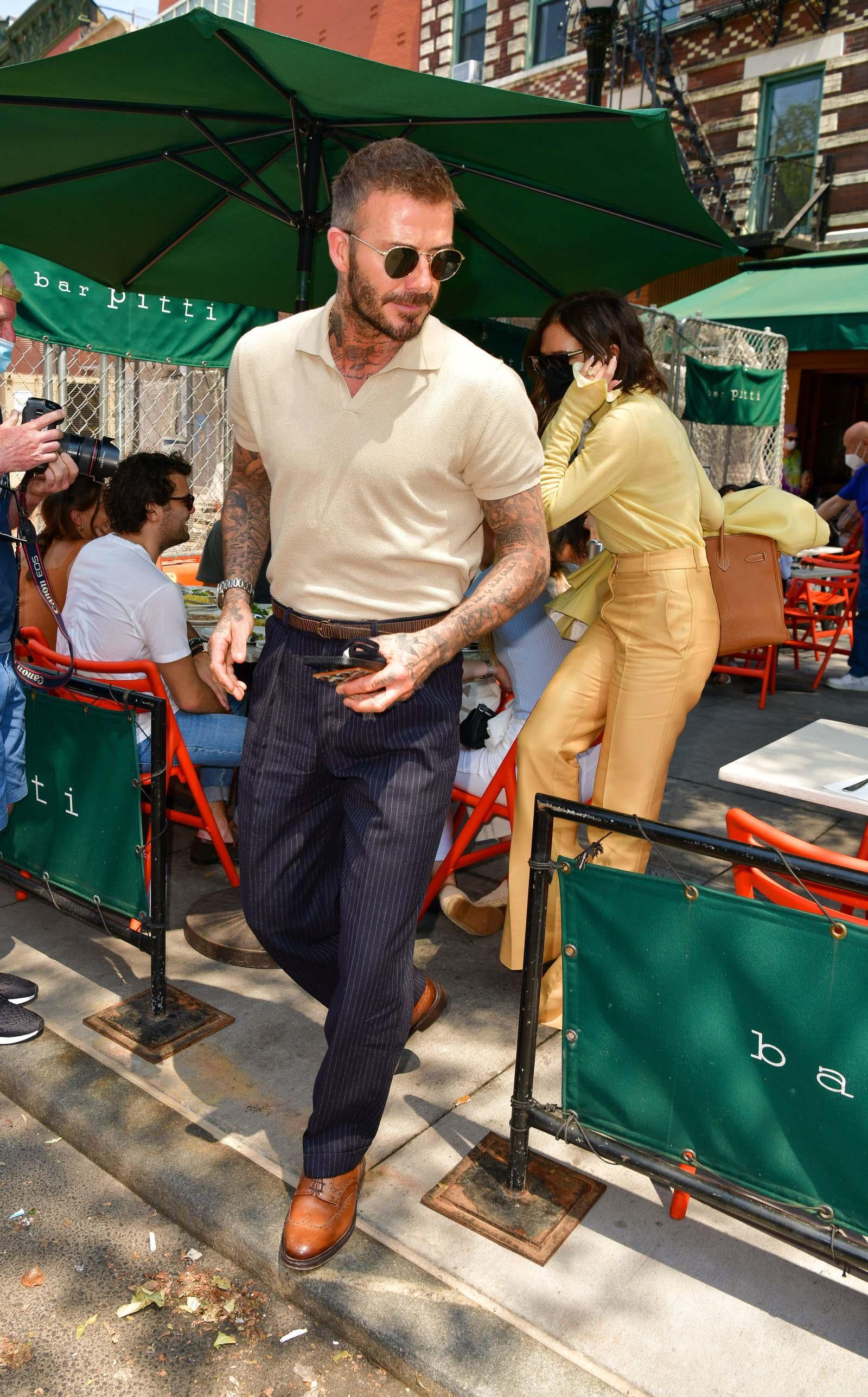 David Beckham ở New York