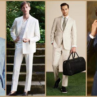 Suit vải linen - Sự thanh lịch của quý ông mùa Hè