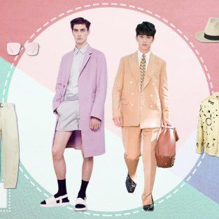 ELLE Man Style Calendar: Muôn cách phối đồ Hè với màu Pastel