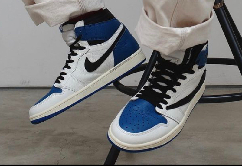 Air Jordan 1 Jordan 1 Military Blue Nike x Travis Scott x Fragment Design