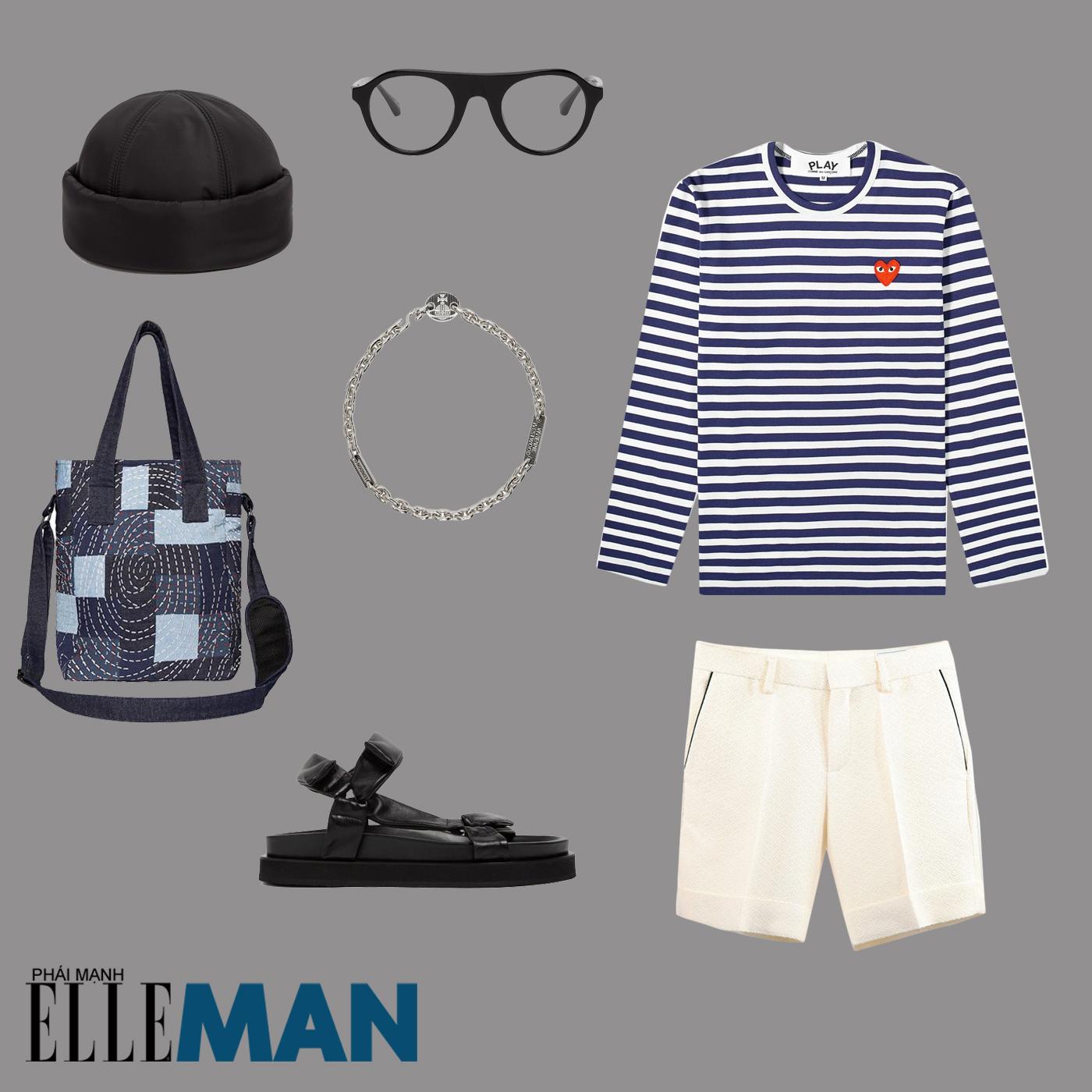 ao ke ngang breton - elle man style calendar - layout outfit 1