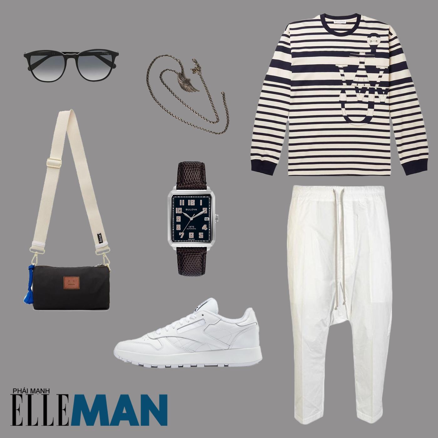 ao ke ngang breton - elle man style calendar - layout outfit 3