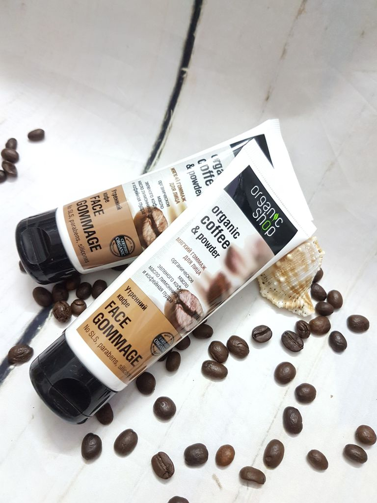 ORGANIC SHOP Organic Coffee and Powder