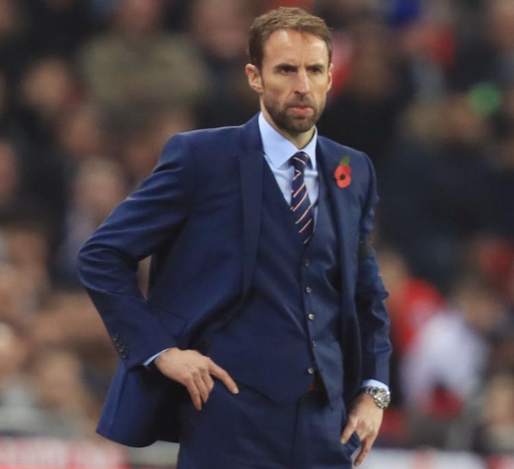 Gareth Southgate cùng suit 3 mảnh truyền thống