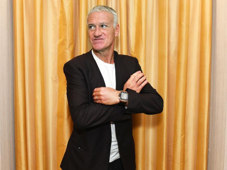 Didier Deschamps đeo đồng hồ Hublot