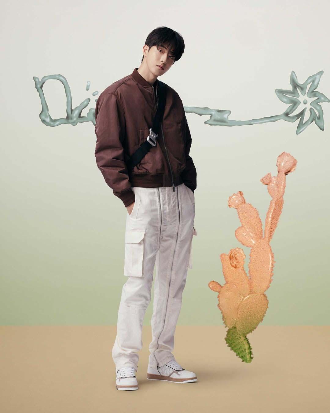nam-joo-hyuk tại dior x Cactus Jack show