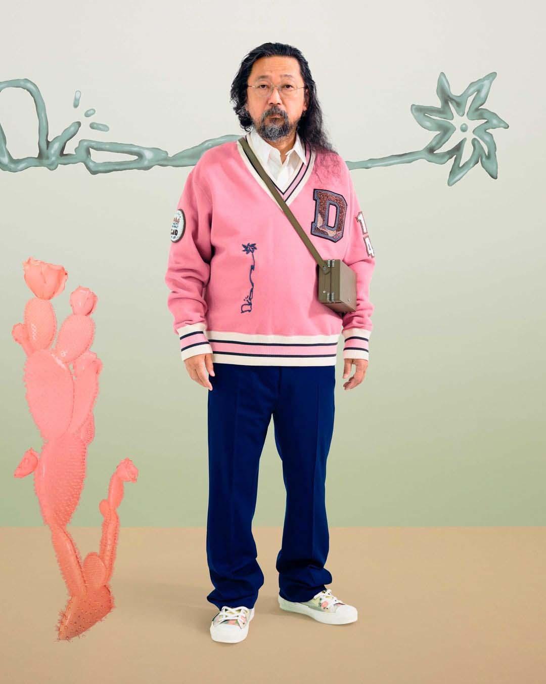 takashi murakami dior x Cactus Jack show