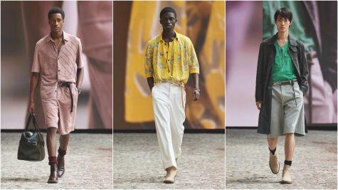 Hermès Mens Xuân-Hè 2022: Tinh thần lạc quan và tối giản của những quý ông