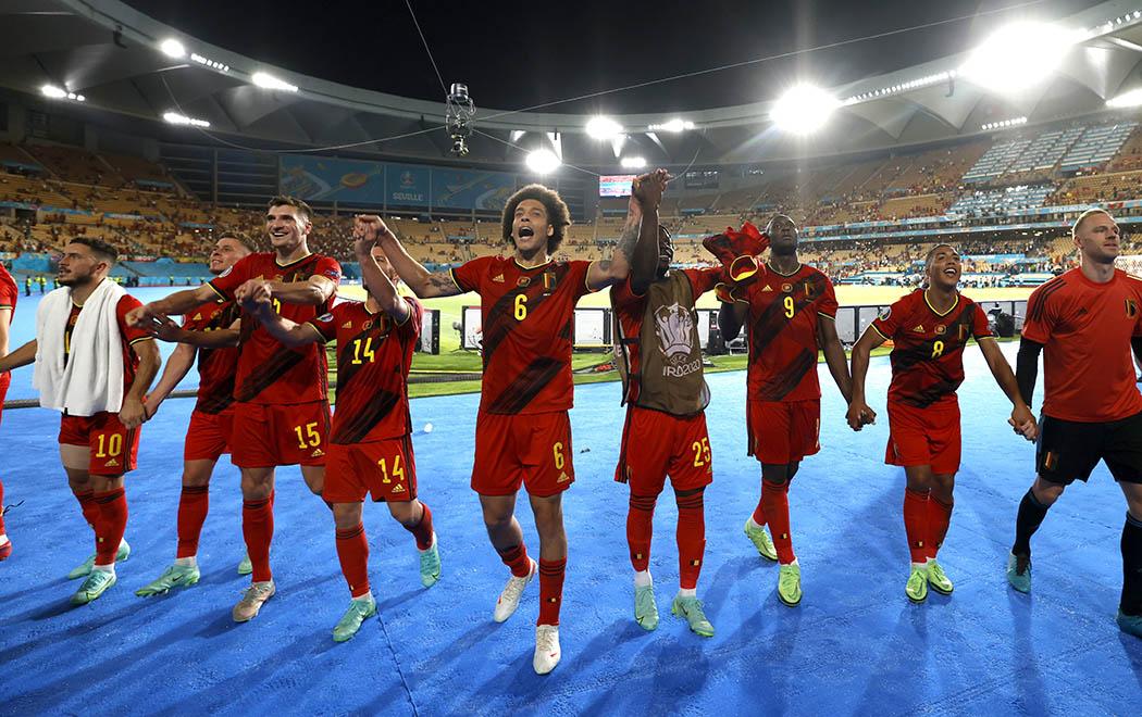 Bỉ đã vượt qua Bồ Đào Nha để tiến vào Tứ kết EURO 2020.