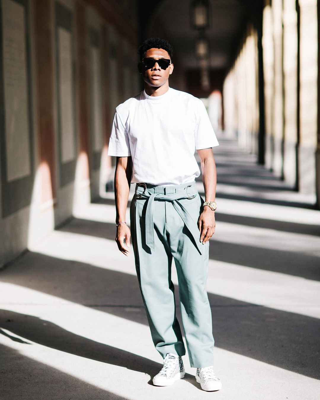 David Alaba cùng các item của Dior